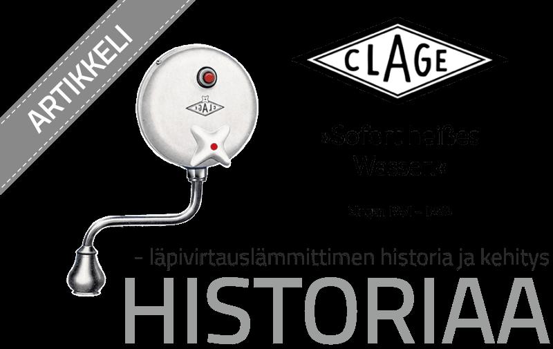 Läpivirtauslämmittimen historia ja kehitys