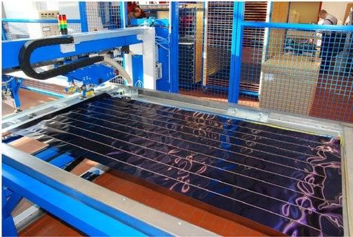 Aurinkokeräimen Blue Tec ETA PLUS pinnoitteen valmistus