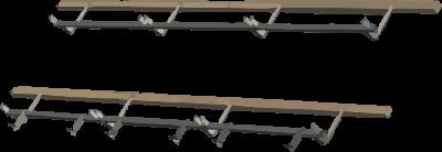 Aurinkokeräinten ZMD kiinnikkeet tiilikatteelle