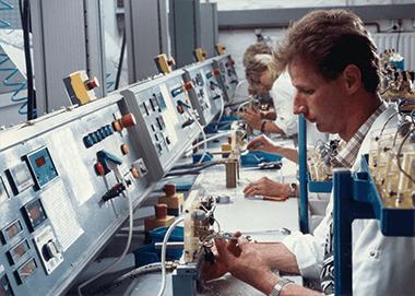 Clage läpivirtauslämmittimen testausta 90-luvulla