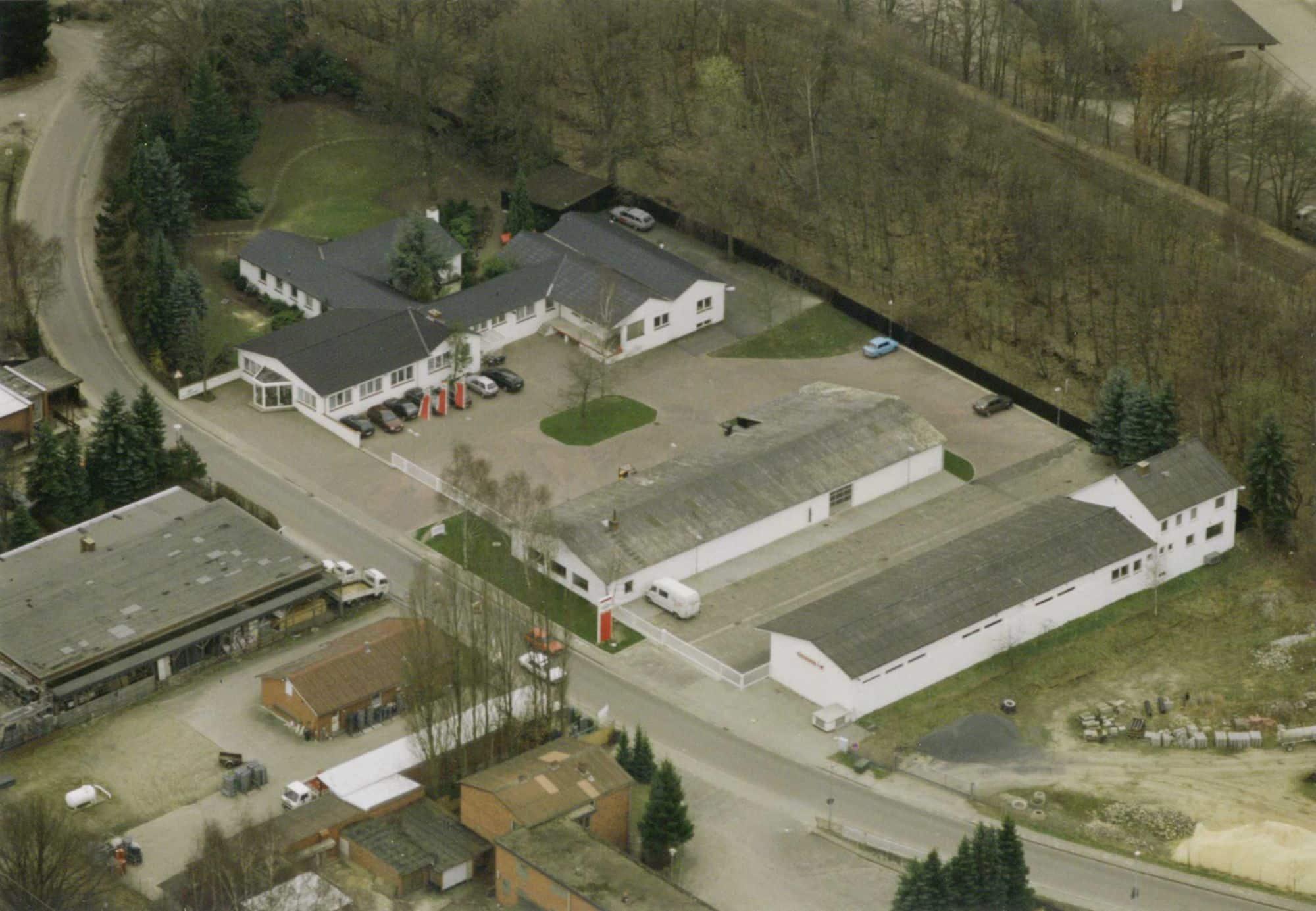 Clagen uusi toimisto vuonna 1988