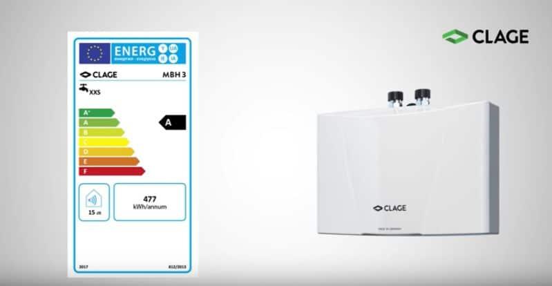 Clage MBH läpivirtauslämmittimen asennusvideo