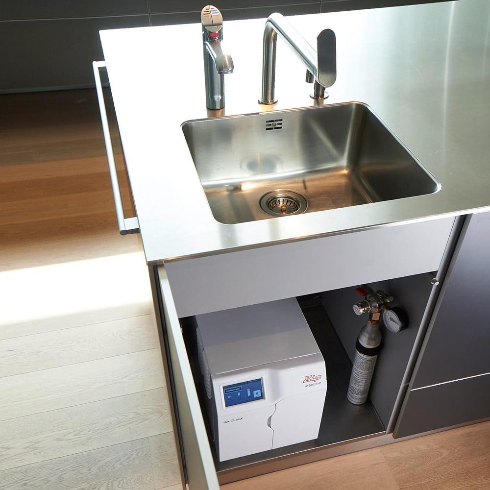 ZIP HydroTap juomavesiautomaatti asennettuna