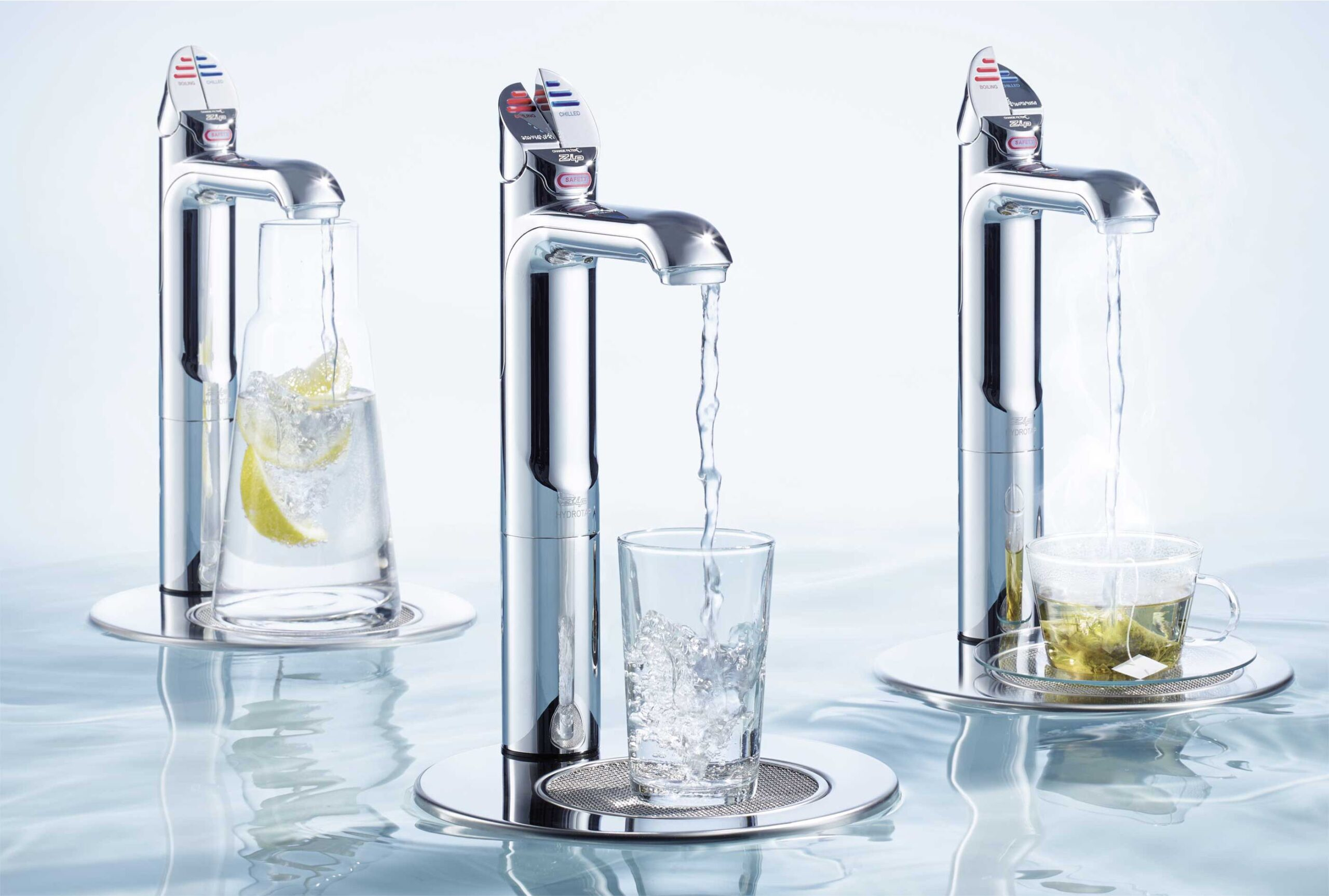 ZIP juomavesiautomaatti vaihtoehdot